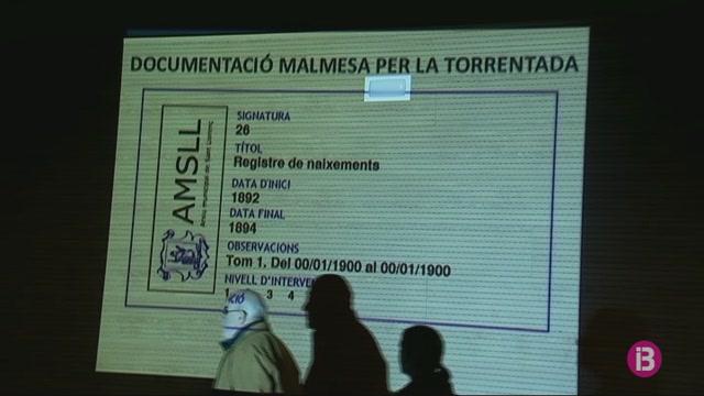 Sant+Lloren%C3%A7+presenta+els+resultats+de+la+recuperaci%C3%B3+de+documents+perduts+a+la+torrentada
