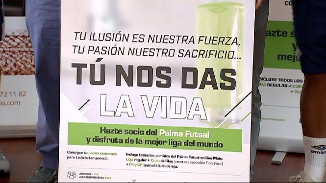 El+Palma+Futsal+presenta+la+campanya+d%27abonats