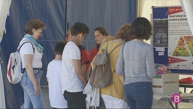 5.000+infants+i+joves+de+76+centres+de+Mallorca+a+la+Fira+de+la+Ci%C3%A8ncia