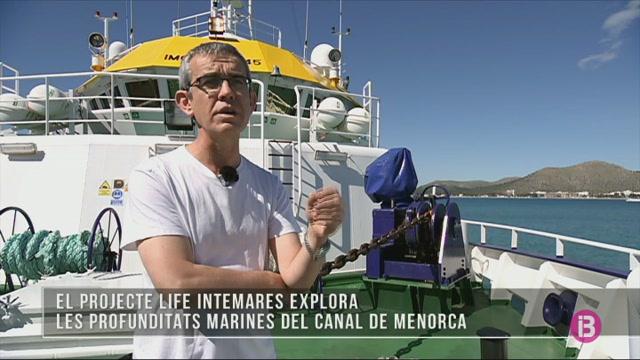 El+projecte+LIFE+INTEMARES+explora+les+profunditats+marines+del+Canal+de+Menorca