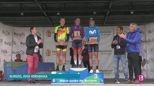 Mavi+Garcia%2C+tercera+a+la+Volta+a+Burgos