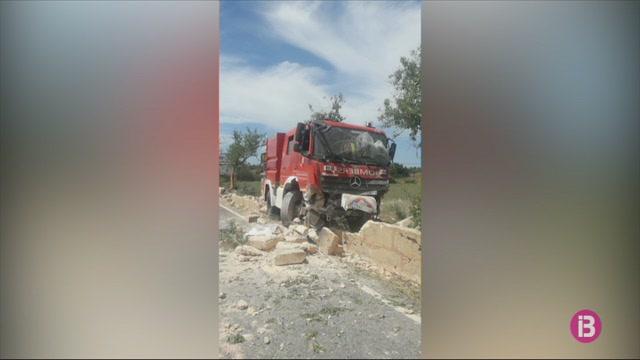 Accidentat+un+cami%C3%B3+nou+dels+Bombers+de+Mallorca