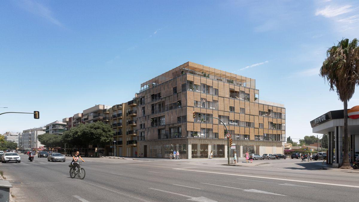 Promouen+a+Palma+el+primer+edifici+plurifamiliar+de+Balears+constru%C3%AFt+amb+fusta