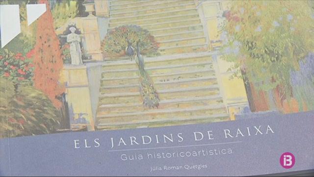 J%C3%BAlia+Roman+presenta+%26%238216%3BEls+jardins+de+Raixa%27
