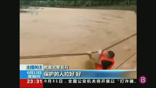 Almenys+61+morts+a+la+Xina+a+causa+de+les+intenses+pluges
