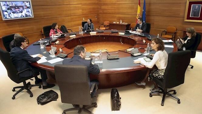 El+Consell+de+Ministres+analitza+el+pla+de+desescalada+del+confinament