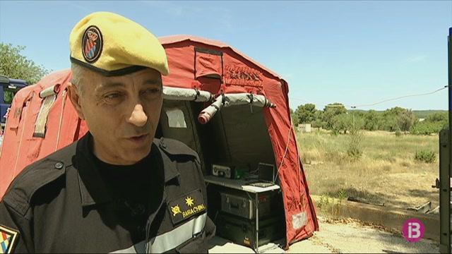 La+Unitat+Militar+d%27Emerg%C3%A8ncies+realitza+simulacres+d%27extinci%C3%B3+d%27incendis+a+Eivissa