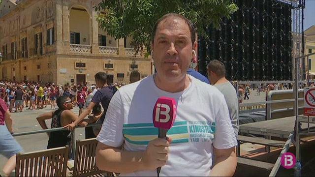 Una+baralla+m%C3%BAltiple+ha+estat+l%27%C3%BAnic+incident+previ+a+la+festa+de+Ciutadella