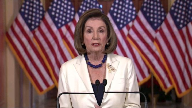 La+presidenta+de+la+cambra+de+representants+dona+via+lliure+a+l%27impeachment+de+Donald+Trump