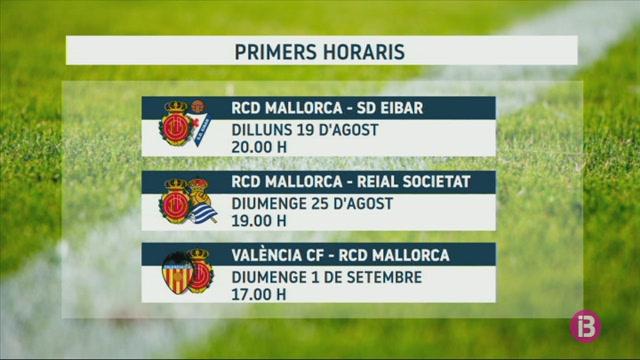 El+Mallorca+ja+sap+quan+jugar%C3%A0+els+tres+primers+partits+de+lliga