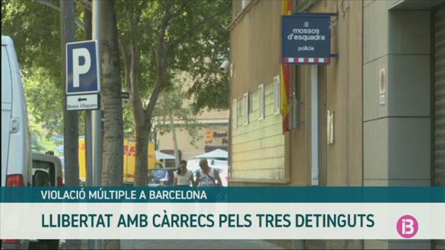 Llibertat+amb+c%C3%A0rrecs+pels+dos+homes+i+la+dona+detinguts+per+la+presumpta+violaci%C3%B3+a+Barcelona
