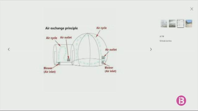 Lloguen+per+Airbnb+un+igl%C3%BA+transparent+per+passar+la+nit+a+Formentera