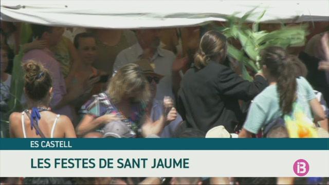 El+jaleo+del+Dia+de+Sant+Jaume+omple+d%27alegria+l%27Esplanada+des+Castell