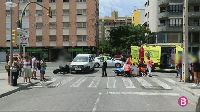 Tres+dones+ferides+en+diversos+accidents+avui+a+Mallorca