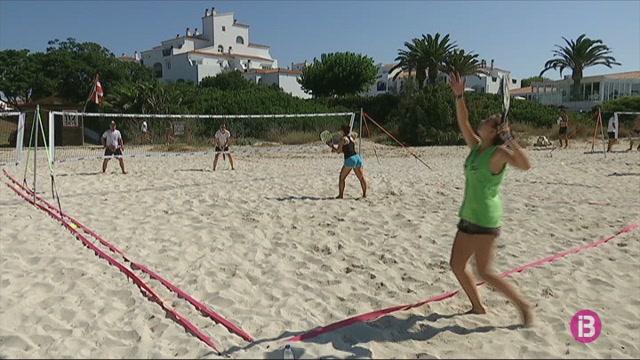 Circuit+d%27estiu+de+tennis+platja+a+Menorca