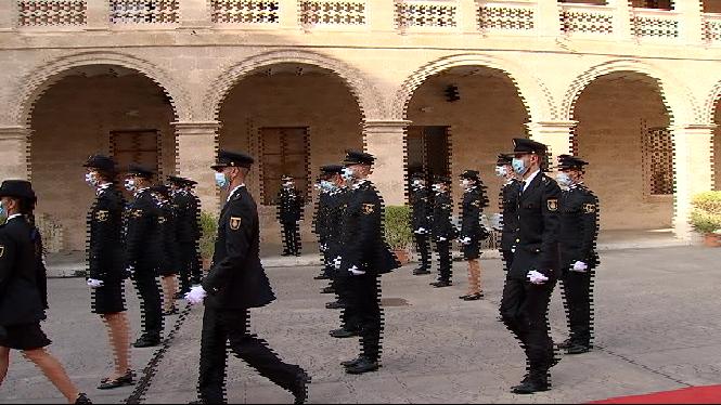Cinquanta-nou+agents+de+la+Policia+Nacional+han+jurat+el+seu+c%C3%A0rrec+a+Palma