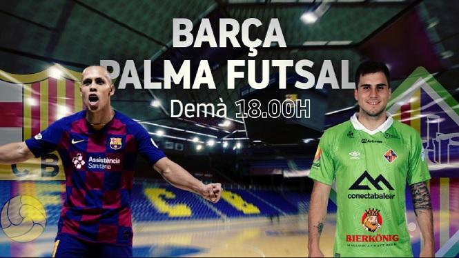 El+Palma+Futsal+cercar%C3%A0+la+segona+vict%C3%B2ria+en+pretemporada+contra+el+Bar%C3%A7a