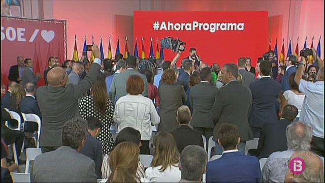 Pedro+S%C3%A1nchez+presenta+el+programa+electoral+amb+el+qual+concorreran+a+les+eleccions+del+10N
