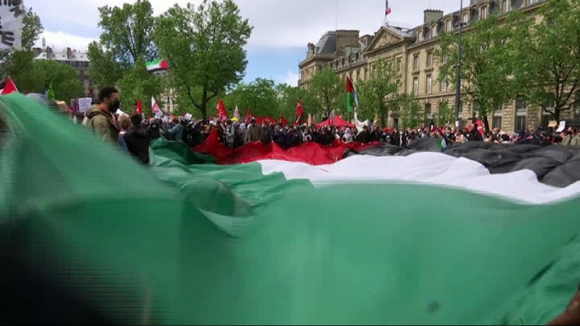 Milers+de+persones+es+manifesten+a+capitals+europees+per+donar+suport+el+poble+palest%C3%AD