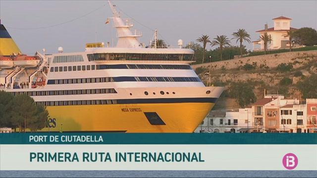 La+nova+ruta+de+Ciutadella+amb+C%C3%B2rsega+i+Sardenya+rebr%C3%A0+40+escales+i+20.000+passatgers