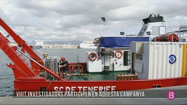 El+buc+oceanogr%C3%A0fic+Garc%C3%ADa+del+Cid+parteix+de+campanya+des+del+port+de+Palma