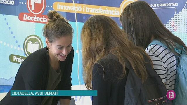 750+alumnes+de+Menorca+assisteixen+a+la+sisena+edici%C3%B3+de+la+Fira+de+l%27Ensenyament+per+decidir+el+seu+futur