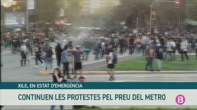 El+president+de+Xile+declara+l%27estat+en+emerg%C3%A8ncia
