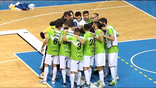 El+Palma+Futsal+ja+prepara+el+duel+a+Valdepe%C3%B1as