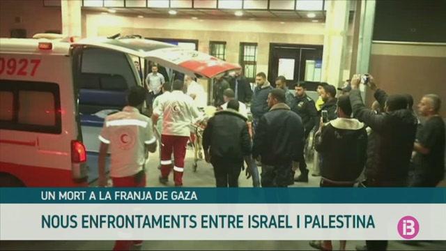 Un+mort+a+la+Franja+de+Gaza