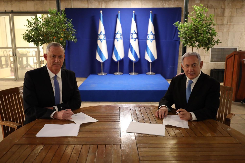 Acord+per+formar+govern+a+Israel+entre+Benjamin+Netanyahu+i+Beny+Gantz