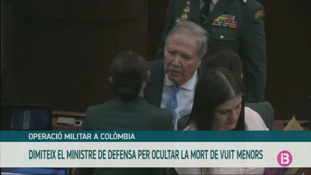 Dimiteix+el+ministre+de+Defensa+de+Col%C3%B2mbia+per+ocultar+la+mort+de+vuit+menors+en+un+bombardeig+militar+contra+dissidents+de+les+FARC