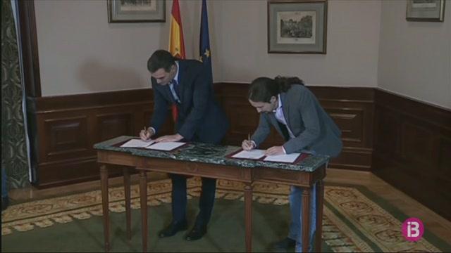 Es+reprenen+les+negociacions+per+aconseguir+suports+a+la+coalici%C3%B3+PSOE-Podem