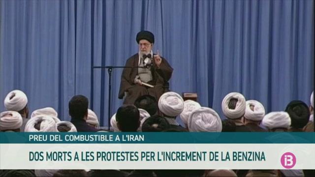 Dos+morts+a+l%27Iran+durant+les+protestes+per+l%27augment+del+preu+del+combustible