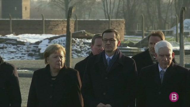 Merkel+visita+l%27antic+camp+de+concentraci%C3%B3+d%27Auschwitz