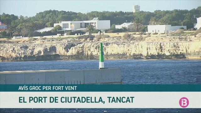 Tanca+el+port+de+Ciutadella+per+vuitena+vegada+en+cinc+setmanes