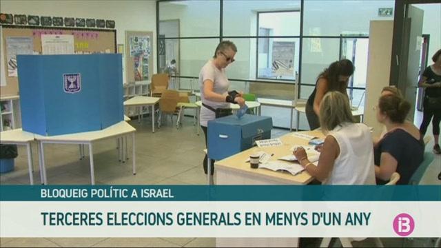 Israel+celebra+la+seva+tercera+cita+electoral+consecutiva+en+menys+d%27un+any