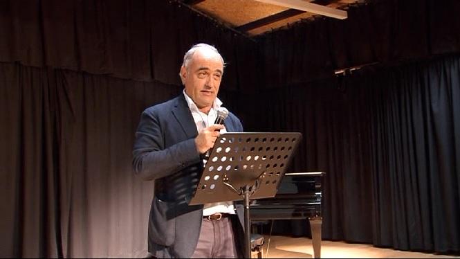 Assun+Planas+i+Francesc+Orella+inauguren+l%27Escola+Municipal+de+Teatre+d%27Inca