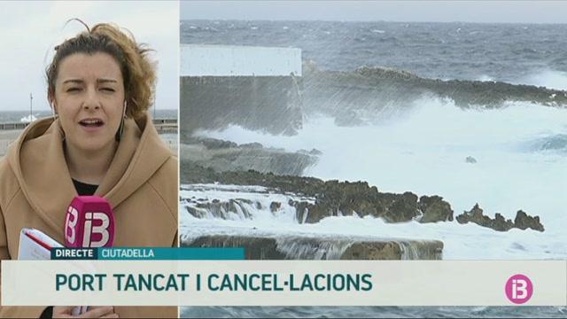 El+port+exterior+de+Ciutadella+ha+hagut+de+tancar+1+de+cada+3+dies+des+del+novembre
