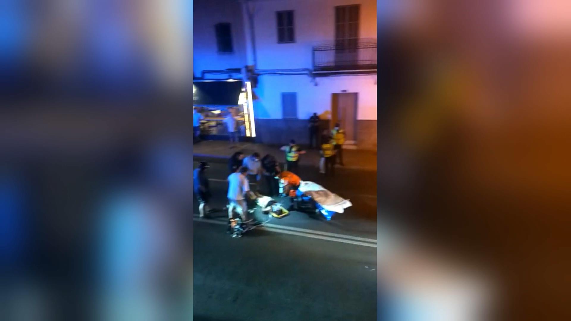 Detingut+un+conductor+begut+per+atropellar+dues+persones+a+Santa+Catalina