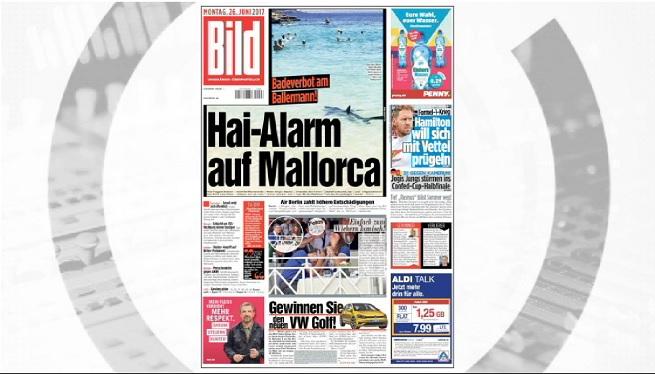 La+tintorera+capturada+a+Mallorca%2C+protagonista+de+les+portades+dels+tabloides