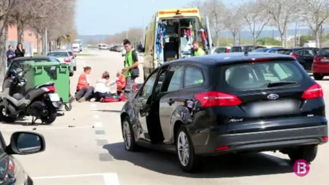 Ferit+greu+un+motorista+en+un+accident+a+Palma