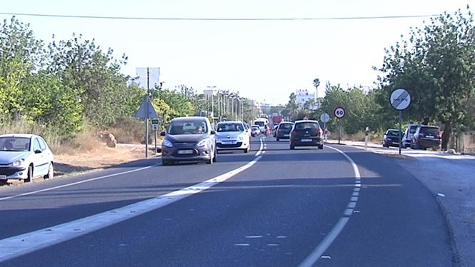 Les+obres+alenteixen+el+tr%C3%A0nsit+a+la+carretera+general+de+Menorca