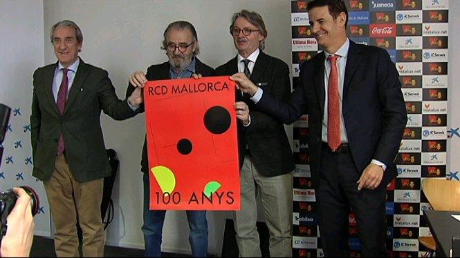 Presentat+el+cartell+del+centenari+del+Reial+Mallorca
