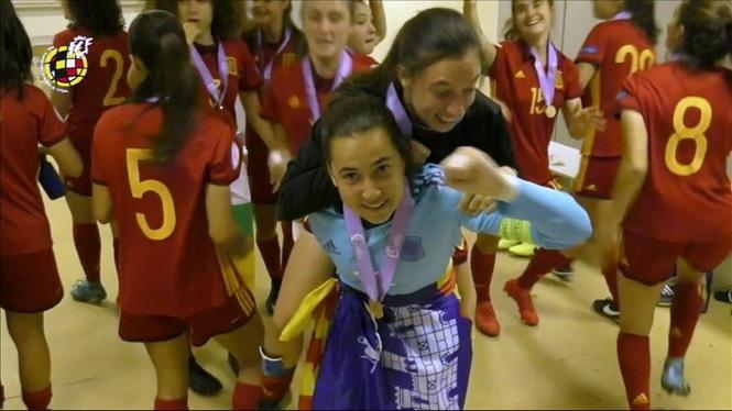 La+mallorquina+Cata+Coll+campiona+d%27Europa+de+futbol