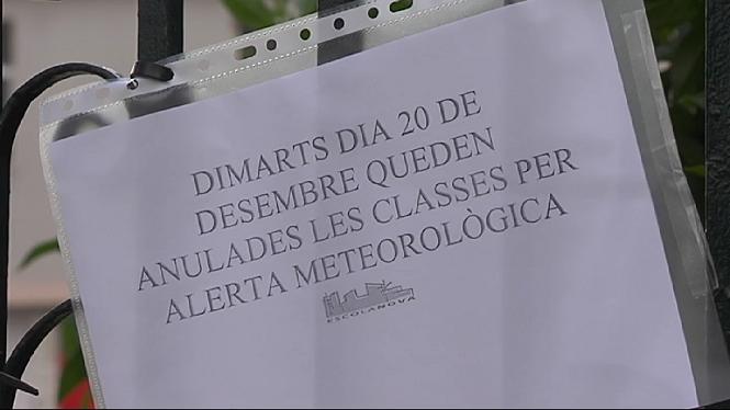 Se+suspenen+les+classes+a+17+municipis+de+Mallorca