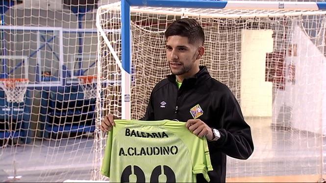 El+Palma+Futsal+presenta+Claudino