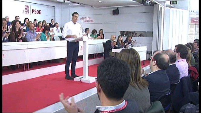 Els+barons+del+Partit+Socialista+accepten+la+proposta+de+Pedro+S%C3%A1nchez+de+consultar+amb+les+bases+els+possibles+pactes+de+Govern
