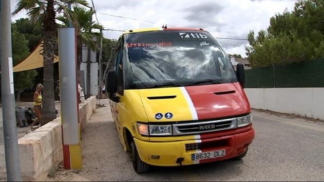El+bus+entre+Sa+R%C3%A0pita+i+Ses+Covetes+es+posa+en+marxa