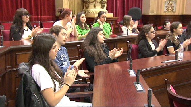 L%27educaci%C3%B3+ha+estat+el+tema+a+discutir+al+Parlament+de+les+Illes+a+la+final+de+la+Lliga+de+Debat+Escolar+de+Mallorca