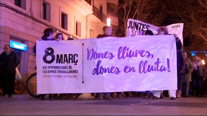 El+Dia+Internacional+de+la+Dona+conclou+amb+manifestacions+i+concentracions+a+distints+punts+de+les+Illes